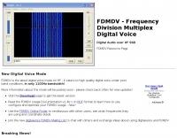 FDMDV - Digital Voice