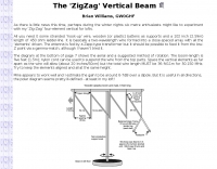 The ZigZag Vertical Beam
