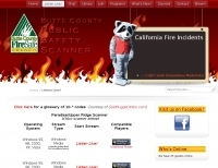 Butte County California Public Safety Scanner