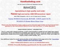 WA4GEG  Repair Service