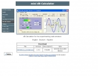 mini dB Calculator