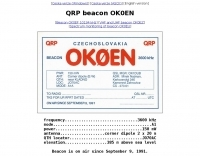 OK0EN QRP beacon