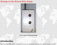 Musings on the Miracle Whip design