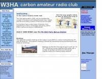W3HA Carbon Amateur Radio Club