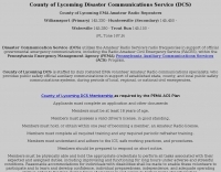 KB3DXU Lycoming County ham radio club