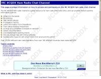 #CQDX Internet Chat