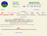 WA3TVG The Laurel Highlands VHF Society
