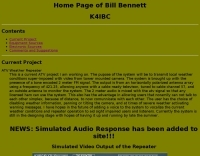 Home page of Bill Bennett K4IBC
