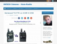 Kenwood TH-F7E vs Icom IC-E90