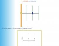 3 elements VHF yagi antenna