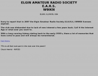 W9IKN The Elgin Amateur Radio Society