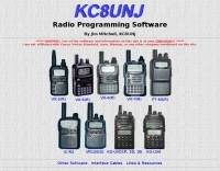 KC8UNJ radio programming software