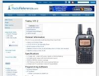 Yaesu VX-2 at RadioReference
