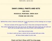 Dan's Small parts and kits