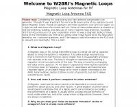 Magnetic Loop Antenna FAQ
