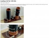 Loading Coil for 136 kHz