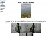 20 Meter Vertical Moxon