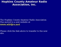 WB4JRO HopkinsCountyAmateurRadioAssociation
