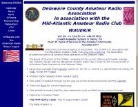 W3UER Delaware County Amateur Radio Association