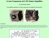 A LF  power amplifier