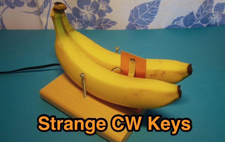 Strange CW keys