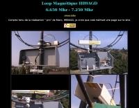 HB9AGD Magnetic Loop