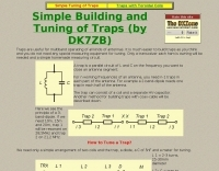 Easy tuning an building of traps