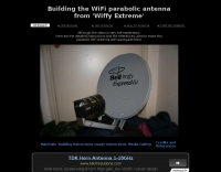 Building the WiFi parabolic antenna