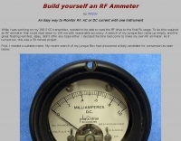 Build yourself an RF Ammeter