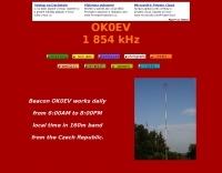 OK0EV 1854 Khz beacon