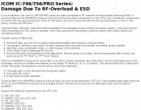 RF-overload for Icom IC 746 756 series