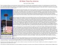80 Meter Pizza Pan Antenna