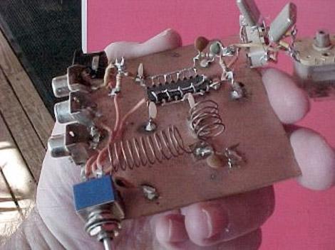 N7KSB Milliwatt transmitter