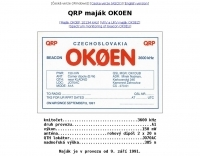 OK0EN  3600 Khz Beacon
