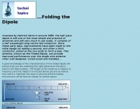 Folding the Dipole
