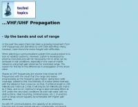 VHF/UHF Propagation