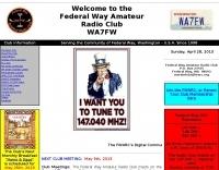 WA7FW Federal Way Amateur Radio Club