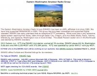 Eastern Washington Amateur Radio Group