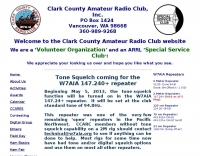 W7AIA, Clark County Amateur Radio Club