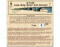 K7LHC London Bridge Amateur Radio Club