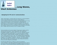 Antennas for MF and LF