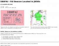 DB0FAI - FAI Beacon