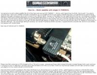 Work satellite with single IC-706MKIIG