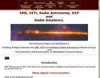 EME, SETI, Radio Astronomy and HAMs