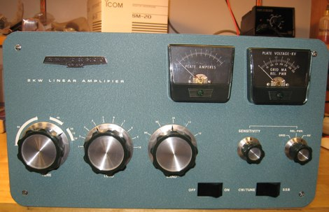 2 kW HF Amplifier Rebuild