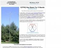 G3TXQ Hex Beam by WY3A