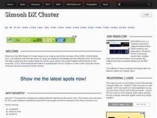 sdr-radio.com  DX Spots