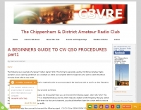 Beginners guide to CW QSO