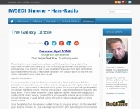 The Galaxy dipole