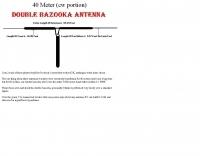 40 meter double bazooka antenna